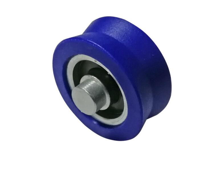 plastic coated pulley bearing